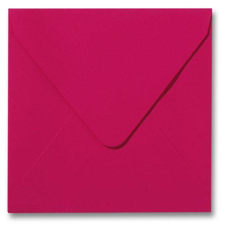 Envelop 16 x 16 cm Softskin Pink