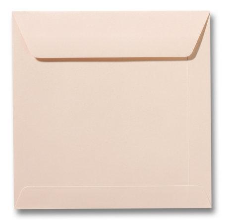 Envelop 17 x 17 cm Abrikoos