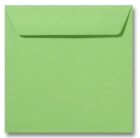 Envelop 17 x 17 cm Appelgroen
