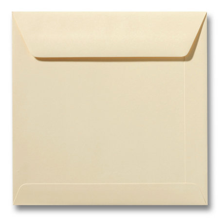 Envelop 17 x 17 cm Chamois
