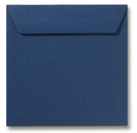 Envelop 17 x 17 cm Donkerblauw