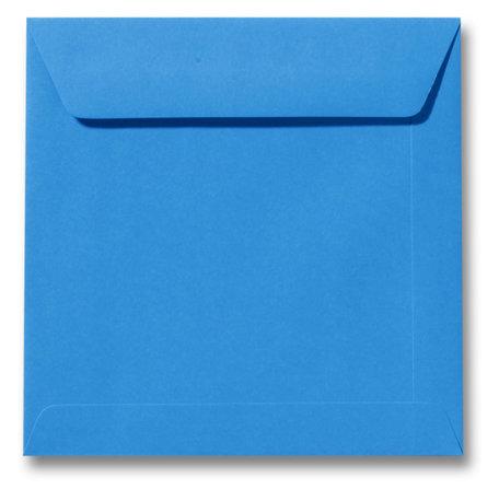 Envelop 17 x 17 cm Koningsblauw