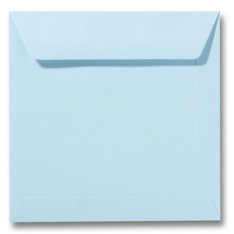 Envelop 17 x 17 cm Laguneblauw
