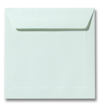 Envelop 17 x 17 cm Lichtgroen