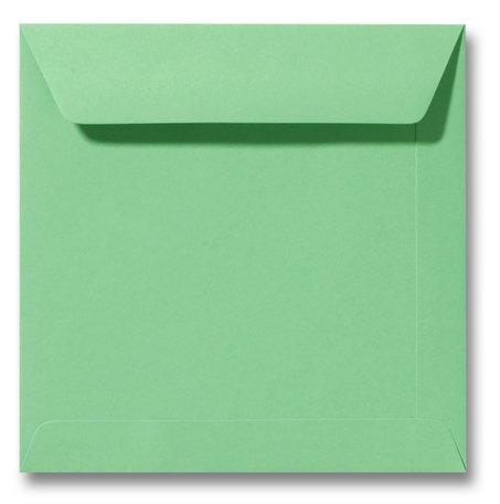 Envelop 17 x 17 cm Weidegroen