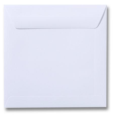 Envelop 17 x 17 cm Wit