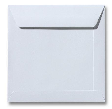 Envelop 17 x 17 cm Zilvergrijs