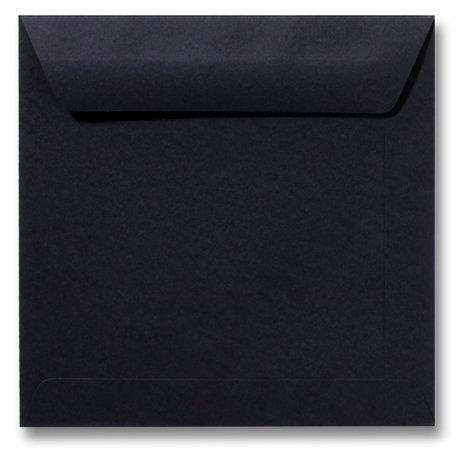 Envelop 17 x 17 cm Zwart