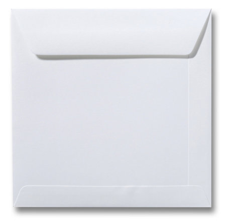 Envelop 22 x 22 cm Gebroken wit