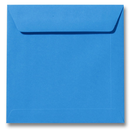 Envelop 22 x 22 cm Koningsblauw