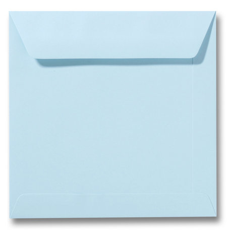 Envelop 22 x 22 cm Laguneblauw