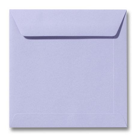 Envelop 22 x 22 cm Lavendel