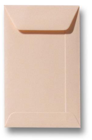 Envelop 6,5 x 10,5 cm Abrikoos