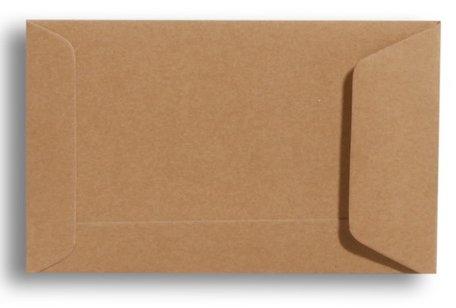 Envelop 6,5 x 10,5 cm Bruin