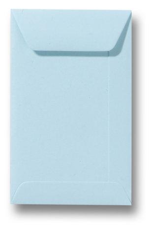 Envelop 6,5 x 10,5 cm Laguneblauw