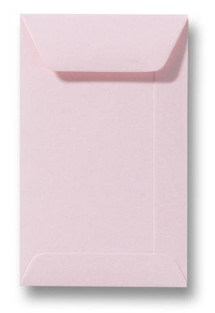 Envelop 6,5 x 10,5 cm Lichtroze
