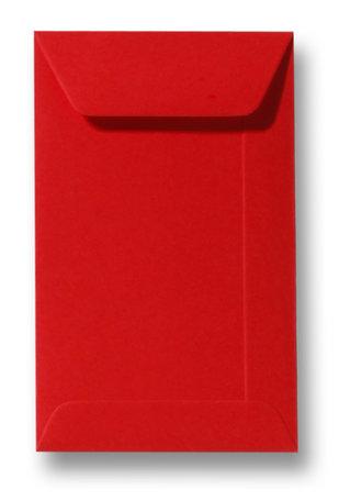 Envelop 6,5 x 10,5 cm Pioenrood