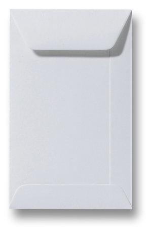 Envelop 6,5 x 10,5 cm Zilvergrijs
