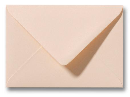 Envelop 8 x 11,4 cm Abrikoos