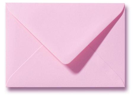 Envelop 8 x 11,4 cm Donkerroze