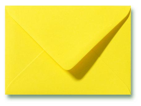 Envelop 8 x 11,4 cm Kanariegeel
