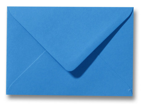 Envelop 8 x 11,4 cm Koningsblauw