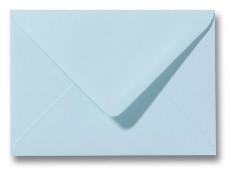 Envelop 8 x 11,4 cm Laguneblauw
