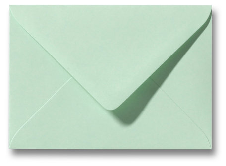 Envelop 8 x 11,4 cm Lentegroen