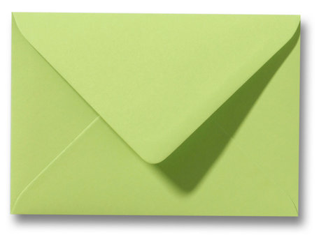 Envelop 8 x 11,4 cm Lindegroen