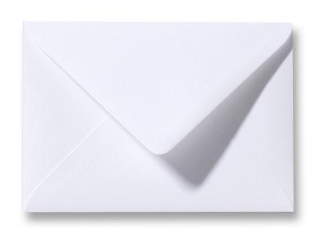 Envelop 8 x 11,4 cm Wit