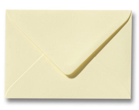 Envelop 8 x 11,4 cm Zachtgeel