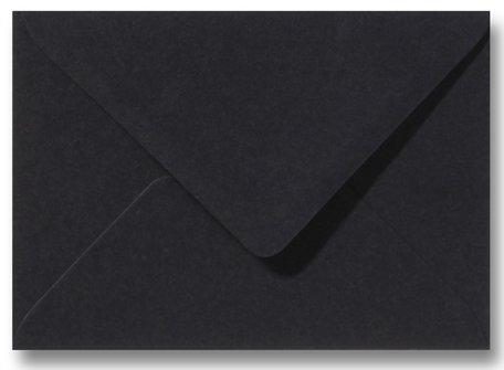 Envelop 8 x 11,4 cm Zwart