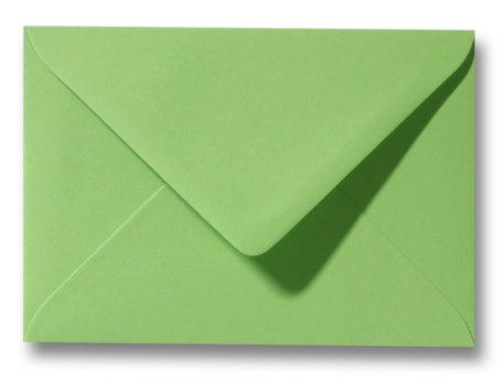 Envelop 9 x 14 cm Appelgroen