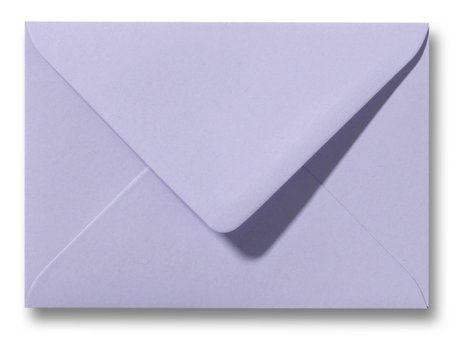 Envelop 9 x 14 cm Lavendel