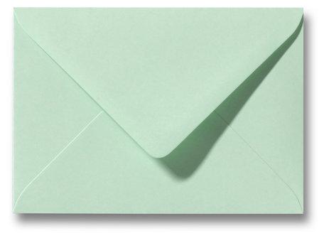 Envelop 9 x 14 cm Lentegroen