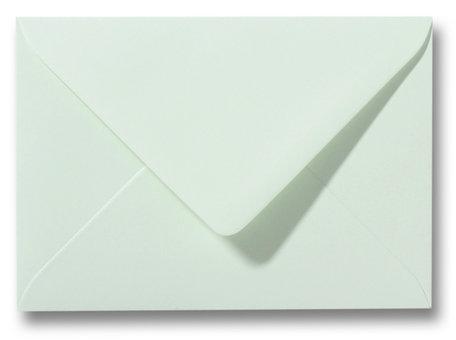 Envelop 9 x 14 cm Lichtgroen