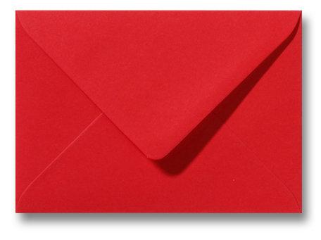 Envelop 9 x 14 cm Pioenrood