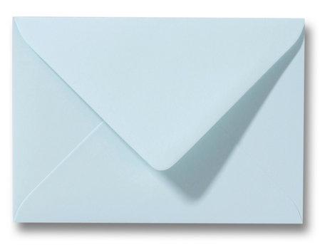 Envelop 9 x 14 cm Zachtblauw
