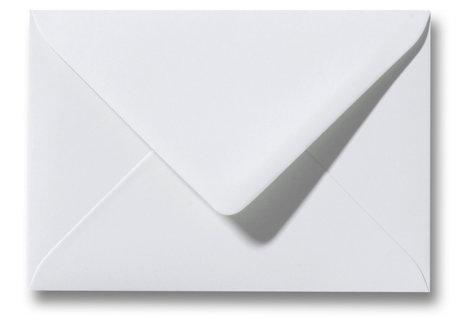Envelop 9 x 14 cm Zilvergrijs
