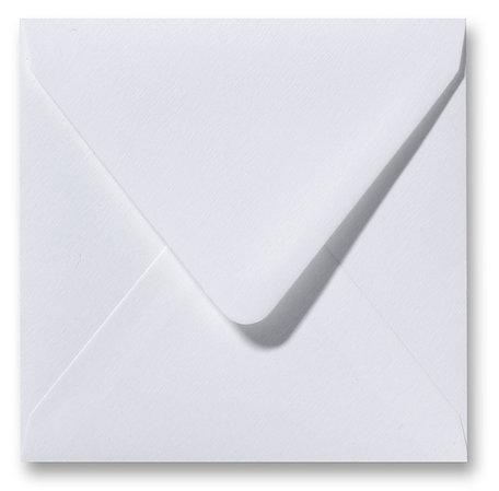 Envelop 12 x 12 cm Fiore Wit
