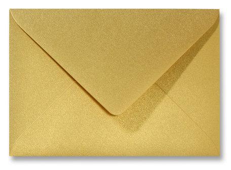 Envelop 15.6 x 22 cm Metallic Goud