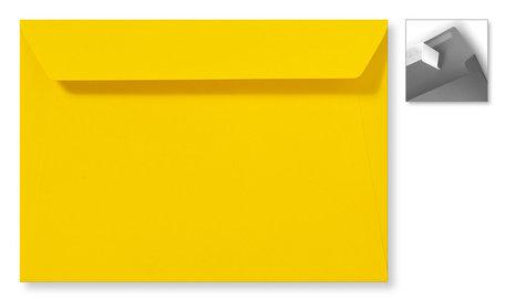 Envelop 22 x 31,2 cm Striplock Boterbloemgeel