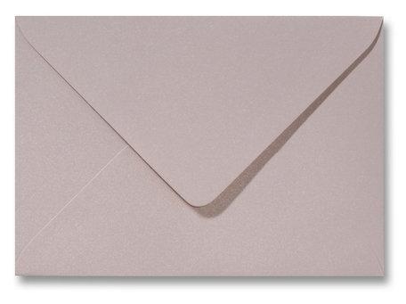 Envelop 12 x 18 cm Metallic Caramel