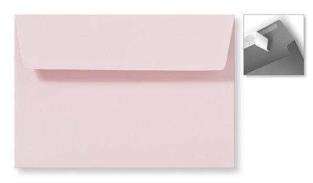 Envelop 12,6 x 18 cm Striplock Lichtroze