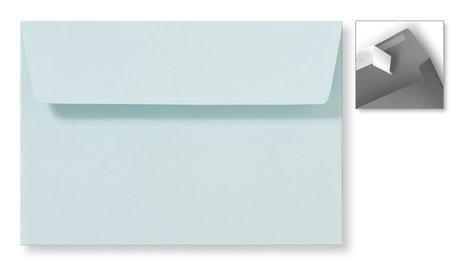 Envelop 12,6 x 18 cm Striplock Zachtblauw