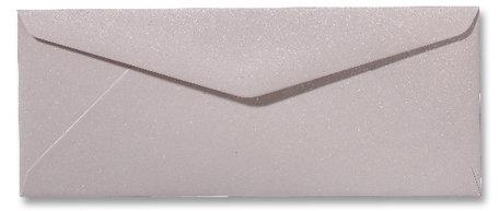 Envelop 9 x 22 cm Metallic Caramel