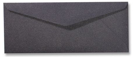 Envelop 9 x 22 cm Metallic Dark