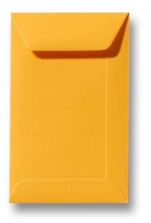 Envelop 6,5 x 10,5 cm Goudgeel
