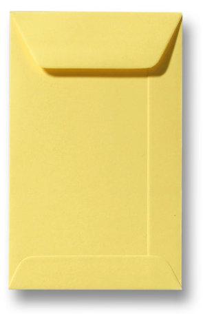 Envelop 6,5 x 10,5 cm Kanariegeel