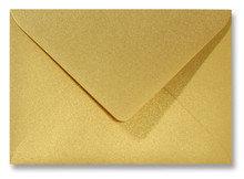 Envelop 12.5 x 17.6 cm Metallic Goud
